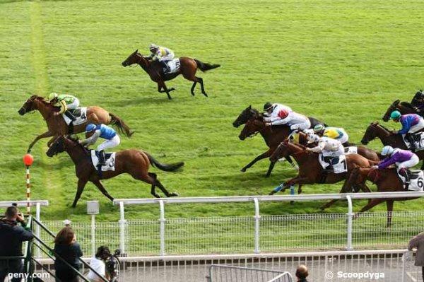 mardi 15 septembre 2015 maisons-laffitte plat ligne droite 1200 mètres 16 chevaux arrivée  4 3 5 9 1 5
