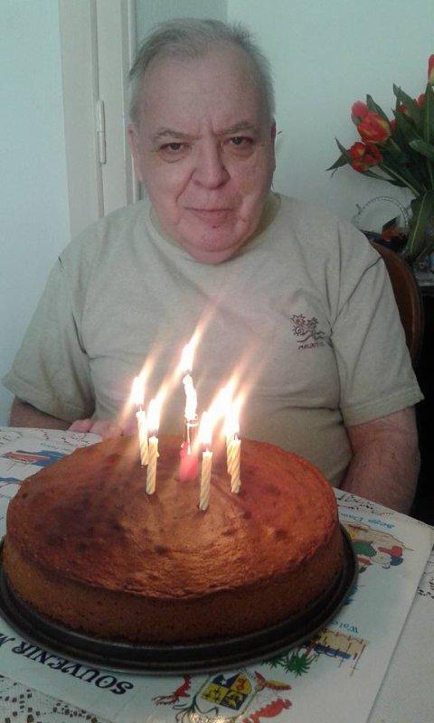 c'était ma fête je faisais ce qui me plaisait ......17 ans ah non 71 ans déjà
