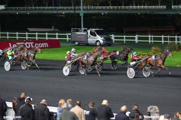 vendredi 30 octobre vincennes trot attelé 18 chevaux départ à 20h25 arrivée 4 2 7 6 1