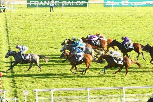 samedi 31 octobre 2015 MAISONS-LAFFITTE plat ligne droite 1200 mètres 16 chevaux arrivée 7 3 14 10 9