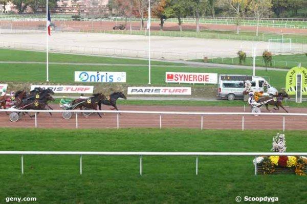 mercredi 4 novembre nantes gnt paris turf trot attelé 14 chevaux 3000 mètres arrivée 9 8 5 13 11