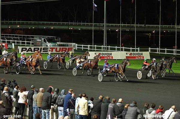 vendredi 13 novembre 2015 quinté nocturne de trot attelé a vincennes nocturne 17 chevaux un non partant le cheval numéro 17