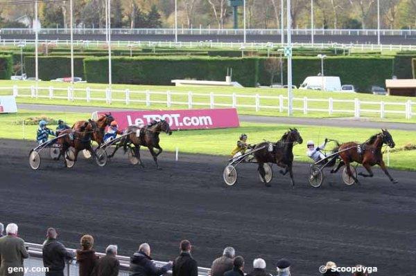 samedi 28 novembre 2015 vincennes trot attelé 18 chevaux départ à 15h 08 arrivée 5 8 10 12 7