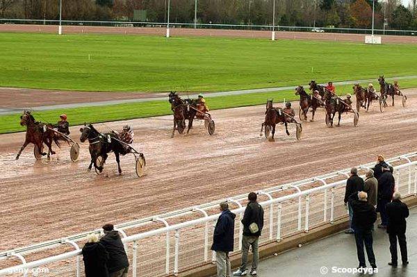 mardi 8 décembre 2015 trot attelé 16 chevaux à cabourg