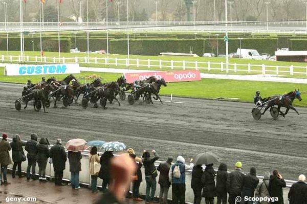 dimanche 3 janvier 2016 vincennes trot attelé 14 chevaux départ à 15h 08 arrivée 3 12 6 2 7