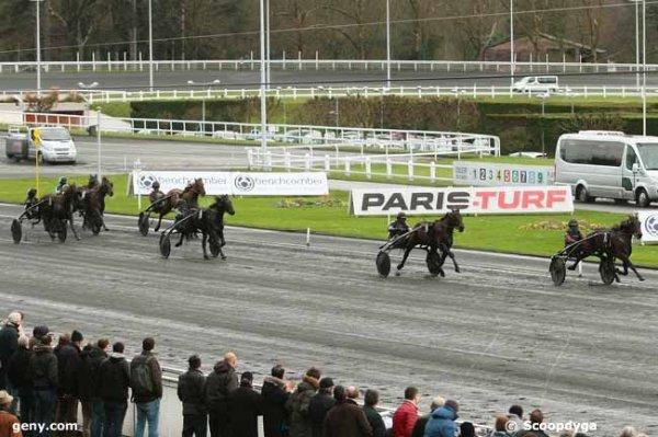 dimanche 10 janvier 2016 vincennes trot attelé 15 chevaux 2700 mètres arrivée 7 6 4 11 12