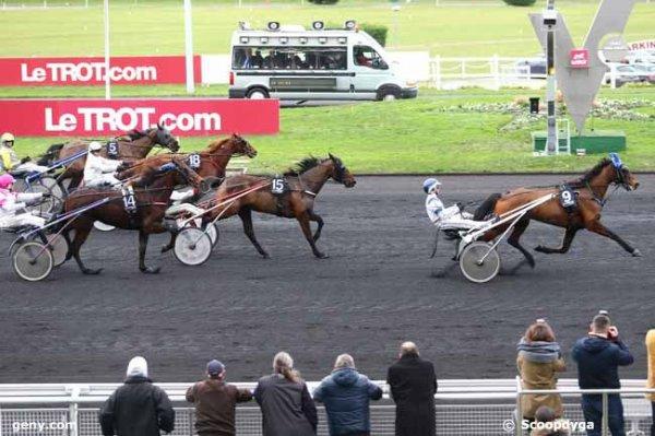 mardi 12 janvier 2016 vincennes le prix du limousin trot attelé 18 chevaux résultat 9 15 14 5 7
