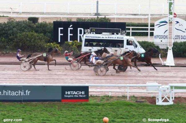 jeudi 14 janvier 2016 cagnes-sur-mer 18 chevaux trot attelé arrivée 4 9 2 6 13