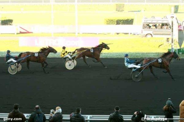 jeudi 21 janvier 2016 vincennes 15 chevaux trot attelé grande piste 2700 mètres arrivée 10 13 14 4 3