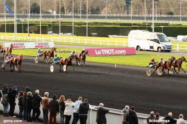 samedi 6 février 2016 vincennes grand prix de la gironde trot attelé 18 chevaux arrivée 7 6 14 17 4