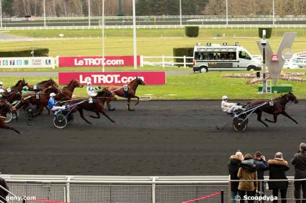 lundi 22 février 2016 vincennes quinté de trot attelé 18 chevaux prix de cahors 2700 mètres