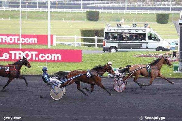 jeudi 25 février vincennes un qauinté de trot attelé 18 chevaux départ à 13h50 arrivée 9 12 18 3 1