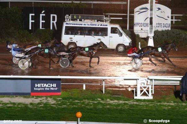 vendredi 4 mars 2016 à cagnes-sur-mer départ à 20h30 avec 14 chevaux arrivée 8 13 10 12 9