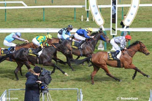 lundi 21 mars 2016 - compiègnes plat 2000 mètres 16 chevaux arrivée du quinté de ce lundi 21 mars 2016 est le suivant 5 8 3 10 4