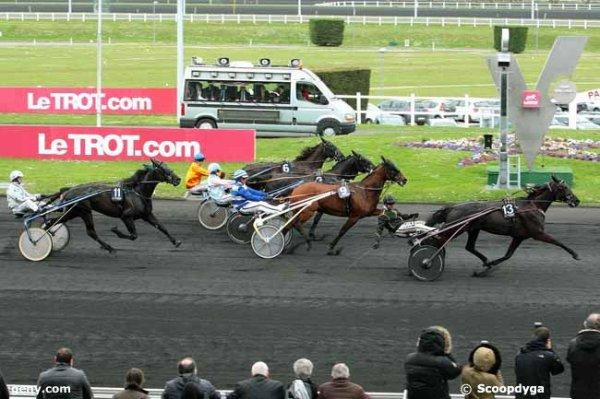 samedi 9 avril 2016 à vincennes avec 14 chevaux arrivée  13 9 3 6 11