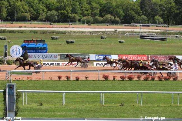 mercredi 27 avril 2016 - bordeaux trot attelé le g.n.t. 18 chevaux arrivée 8 6 1 7 14