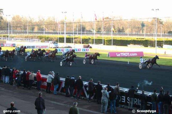 mardi 27 décembre 2016 - quinté de trot attelé - vincennes - 17 chevaux  arrivée 2 14 9 10 11