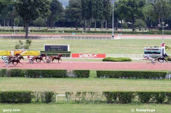 ce jeudi 6 juillet 2017 à enghien avec 18 chevaux - mon choix  3 2 15 12 16......arrivée 18 8 2 4 13