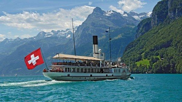 ce 1er août 2017 c'est la fête nationale des suisses