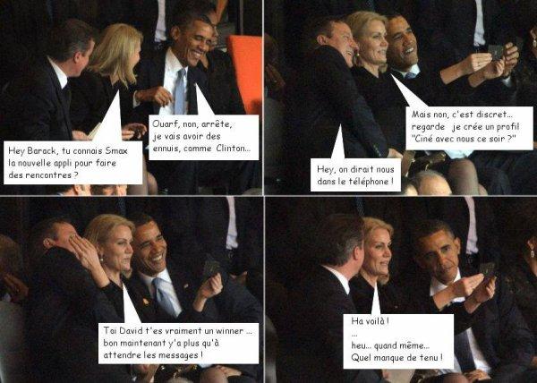 Barack se marre sur smax