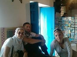 me amis de france avec moi en tunis