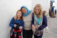 me amis de france avec ma cousine en tunis