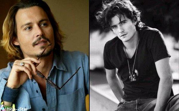 Johnny Depp VS Orlando Bloom