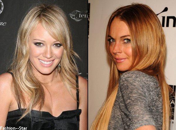 Hilary Duff VS Lindsay Lohan
