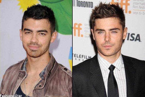 Joe Jonas VS Zac Efron