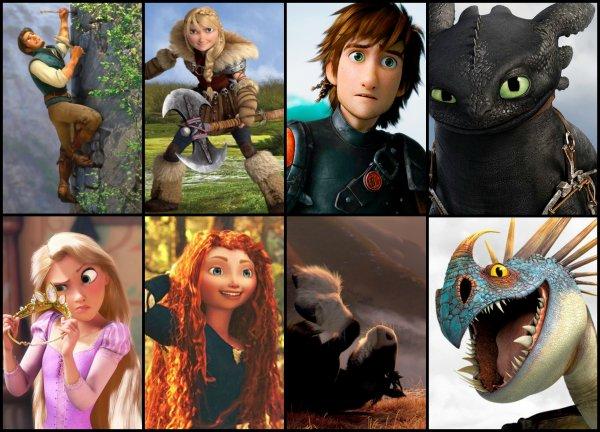 Les nouveaux personnages