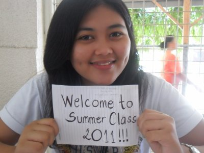 """printf("""" Summer has just started as well as our hot class \n"""");"""