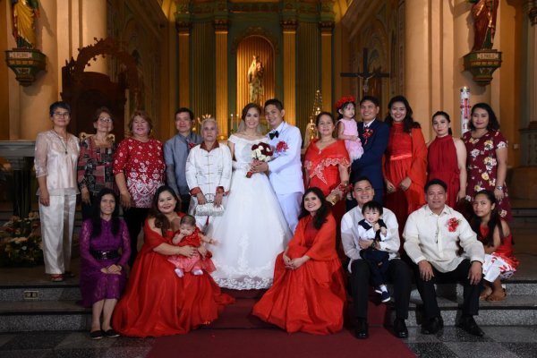 The Wedding at Jaro Cathedral Iloilo, Philippines
