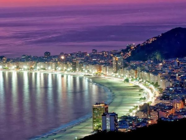 Rio de Janeiro, Praia de Copa Cabana,BRASIL.