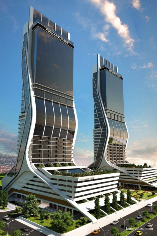 folkart towers architecture