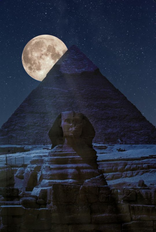 The Dark Side of the Pyramid, Cairo, Egypt