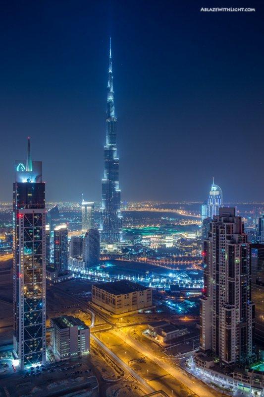 Burj Khalifa and Business Bay - City of Dubai