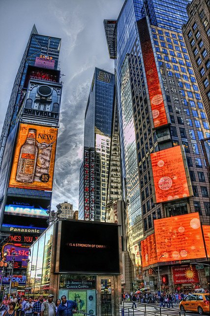 HDR - Times Square