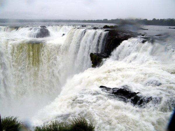 Cataratas do Iguacu, Lado Argentina Garganta do Diabo