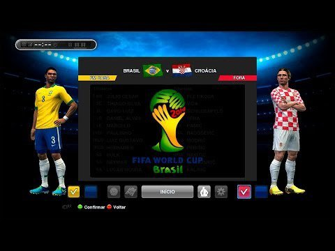 Copa 2014 Brasil-3 X Croácia-1