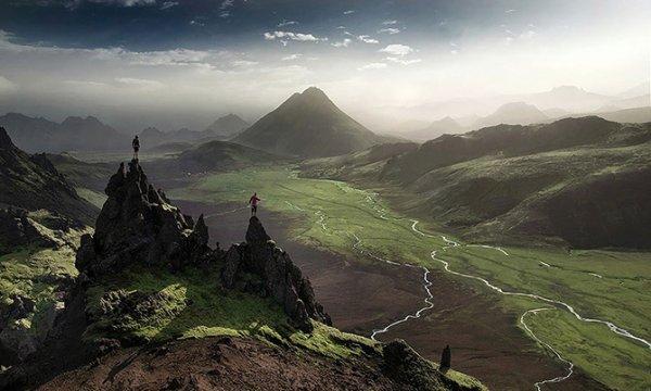 Lindas paisagens da Islândia