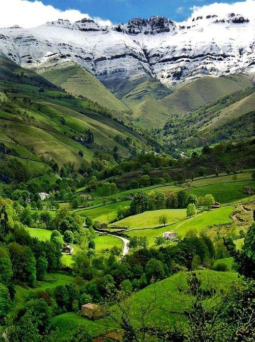 Vale Verão, Cantabria, Espanha