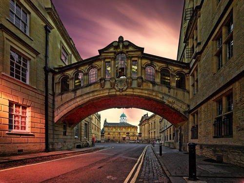 Ponte dos Suspiros, em Oxford, Inglaterra