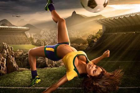 Copa 2014 As Mulheres Jogadoras de Futebol merecem uma excelente copa