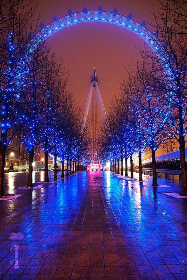 PAISAGEM Glowing London Eye
