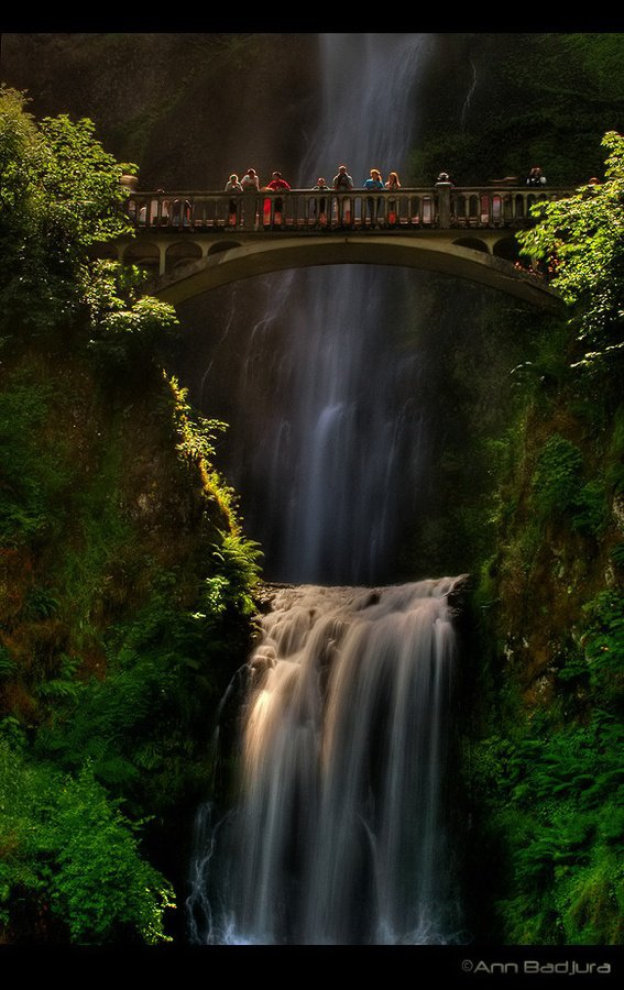 PAISAGEM,Beautiful Multnomah Falls – Oregon, USA