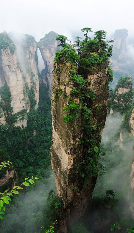 PAISAGEM, Hallelujah Mountains – Zhangjiajie National Forest Park, China