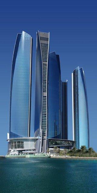 ARQUITETURA, Etihad Towers in Abu Dhabi