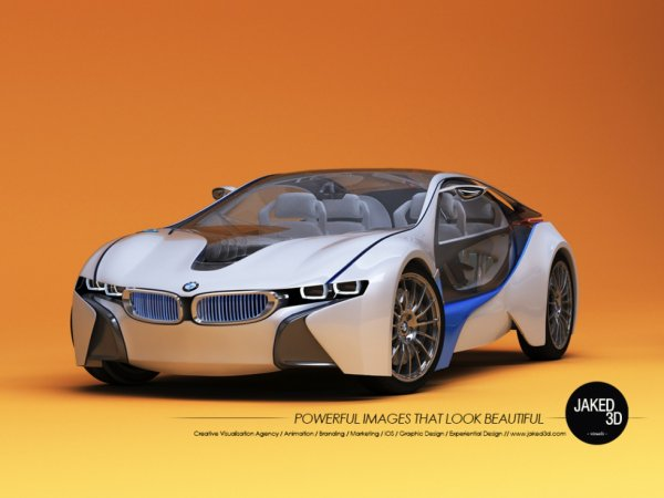 3d car Model For BMW 1024x768