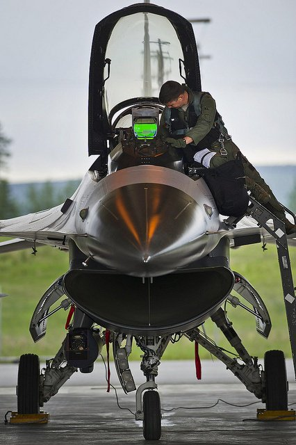 F-16 by U.S. Department of Defense