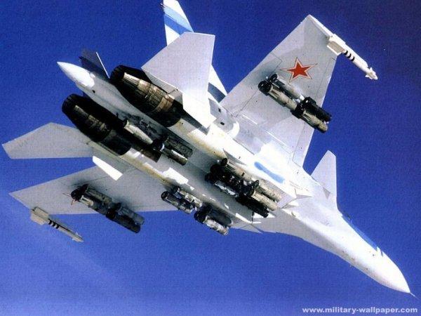 Soviet Su-30 MKI Fighter